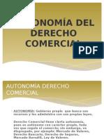 Autonomía Del Derecho Comercial