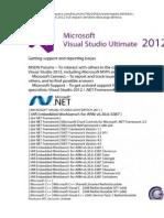 Visual Studio Ultimate 2012