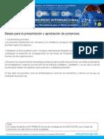 Bases Presentacion Ponencia 2015