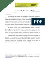 Artigo - Mercado Mundial e Nacional de Óleos Vegetais