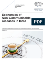 WEF EconomicNonCommunicableDiseasesIndia Report 2014
