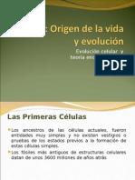 Evolucion Celular y Teoria Endosimbiotica