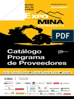 Catalogo Proveedores Mina 2014