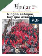 El Popular 318 Órgano de Prensa Oficial del Partido Comunista de Uruguay
