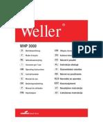 Weller WHP 3000 User Manual (Multi-Lang)
