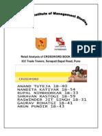 Retail Analysis of Crossword Book Store