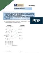 CL2 de Análisis Matemático II Resolución