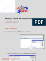 How to Block Facebook Using L7