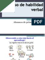 Curso Habilidad Verbal