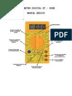 Manual de Uso Básico Multimetro Digital-DT-830B