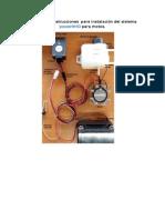 Manual y Diagrama Instalación Motos