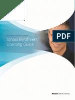School Enrollment Licensing Guide Fos Dummyes