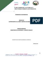 Tdr- Supervisión Construcción de Obras de Prevención y Mitigación de Desastres
