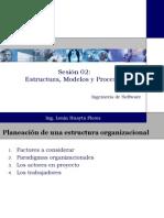 Sesión 02 Estructura, Modelos y Procesos