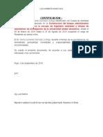 Certificado de RESIDENTE de OBRA Henry
