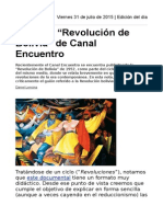 """Critica a """"Revolución de Bolivia"""" de Canal Encuentro"""