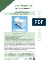 HornantWBH1-18 Datasheet New 1 Web