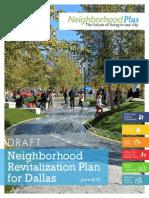 Dallas' Neighborhood Plus Plan
