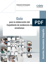 Guía Académica Secundaria Geografía