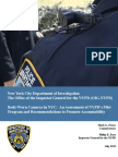 NYPD Body Camera Report