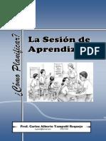 Elaboracion Del Plan de Sesion de Aprendizaje