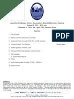LMU Board Meeting August 5, 2015 Agenda Packet