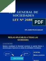 GENERALIDADES DE LA LEY DE SOCIEDADES