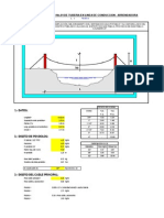 1. Diseño Pase Aereo 10m en Linea de conducción