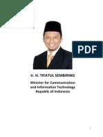 Bio Data Minister Tifatul Sembiring
