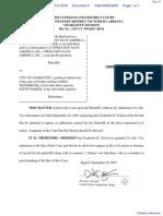 Benham et al v. City of Charlotte et al - Document No. 5