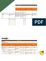 Matriz de Riesgos - Plantilla y Ejemplos