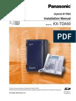 Manual Panasonic IP-PBX  TD50