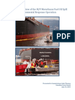 Independent Review of the M/V Marathassa Fuel Oil Spill Environmental ResponseOperation