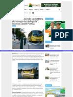 """03-07-2015 """"Montería necesita un sistema de transporte inteligente"""""""