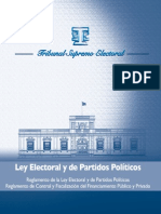 Ley Electoral y de Partidos Políticos, 2011 - Tribunal Supremo Electoral de Guatemala