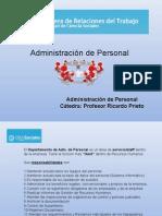 Documentación Administración de Personal UBA