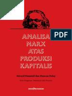 Analisa Marx Atas Produksi Kapitalis