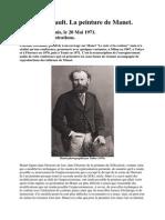 PDF Michel Foucault Conference Sur Manet