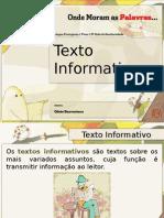 texto informativo