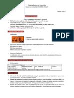 Hipoclorito de Calcio(Msds)