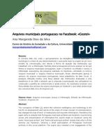 Arquivos municipais portugueses no facebook
