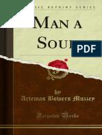 Man a Soul - Artemas Bowers Muzzey