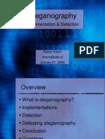 2004 01 21 Presentation Steganography