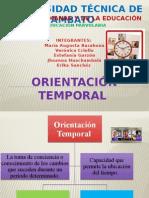 orientacion temporal