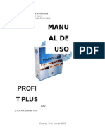 Manual de Uso Profit Plus