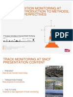 Track Condition Monitoring at SNCF