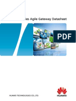 HUAWEI AR510 Series Agile Gateway Datasheet
