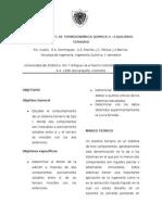 Laboratorio de Equilibrio Ternario Termodinamica Quimica II