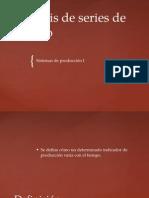 010715 Sistemas de Producciòn Unidad II Series del Tiempo.pptx