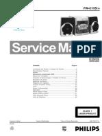 Esquema de Som Philips Mod. FW-C155-19